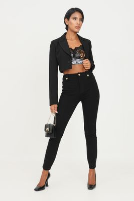 VERSACE JEANS COUTURE Trousers Black