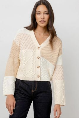Rails Reese Cotton Cable Cardigan