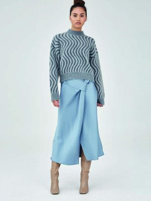 The One And Only Skirt in Duck Egg