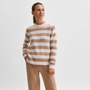 Selected Femme Grace Star Knit - Pink