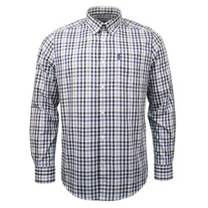 Barbour Country Check 6 Tailored Fit Shirt Grey