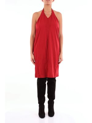 DRKSHDW By Rick Owens short red dress