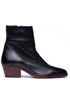 Hudson Carell Ankle Boot in Black