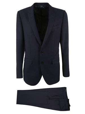 DOLCE E GABBANA MEN'S GK3XMTFU3PUB0387 BLUE WOOL SUIT