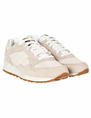 Saucony Shadow 5000 Vintage Trainers - Tan/White Colour: Brown