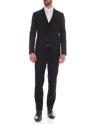 Z ZEGNA MEN'S 724848381CGA BLUE WOOL SUIT