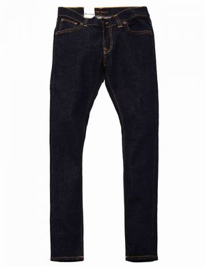 Nudie Jeans Co Tight Terry Denim - Rinse Twill Colour: Rinse Twill, Si