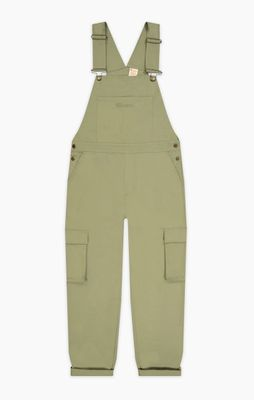Champion Woven Utility Dungarees Olive Green