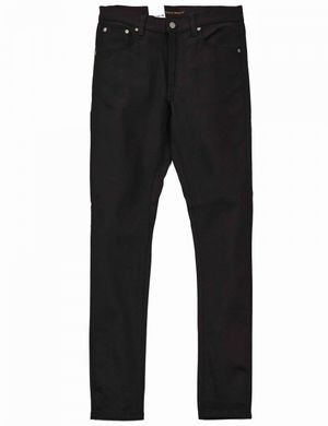 Nudie Jeans Co Tight Terry Denim - Ever Black Colour: Ever Black, Size