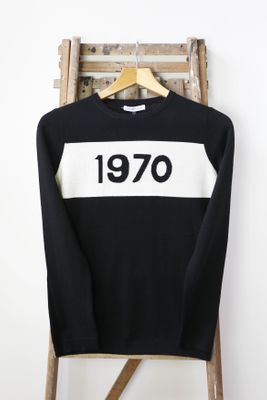 Black 1970 Jumper