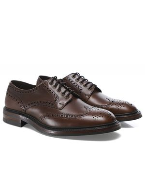 Loake Leather Chester Brogues Colour: Brown