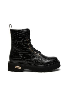 CULT ANFIBI SLASH CROCO BLACK