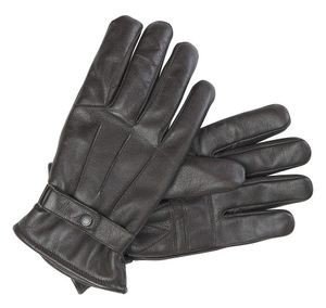 Barbour Burnished Leather Thinsulate Gloves Brown