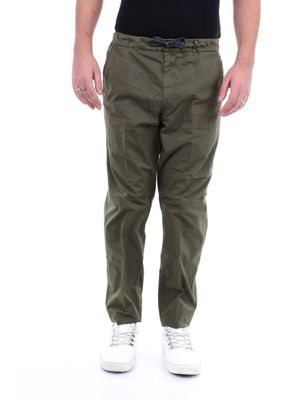 PERFECTION MEN'S 20PG1617VERDEMILITARE GREEN OTHER MATERIALS PANTS
