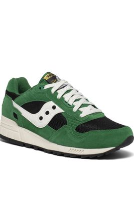 Saucony Mens Shadow 5000 Amazon Green Trainers