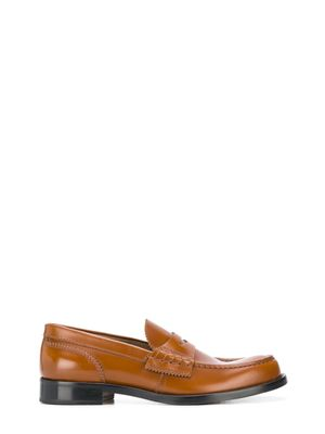 College Brown Loafers