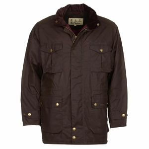 Barbour Newcastle Wax Jacket Peat