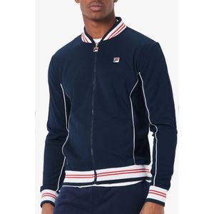 FILA Baranci Piped Classic Track Top - Peacoat/White
