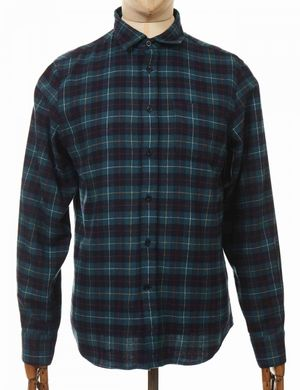 Edwin Jeans Don Shirt - Greener Pastures  Colour: Greener Pastures, Si