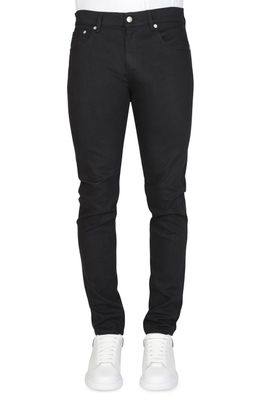 Alexander McQueen Dragon Embroidered Jeans