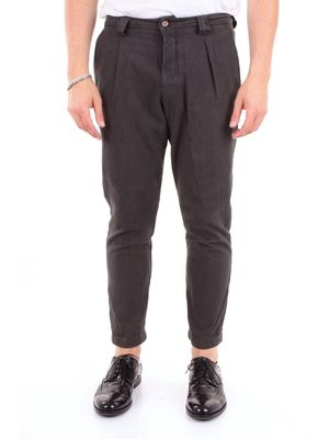 INDIVIDUAL Trouser Men Green forest