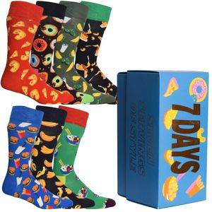 Happy Socks - 7-Pack 7 Days Of Food Boxed Gift Set XSNI15-0500
