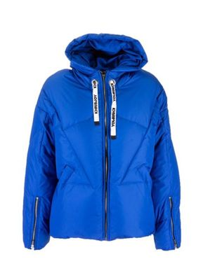 KHRISJOY WOMEN'S BFPK036ANYRY247 BLUE POLYESTER DOWN JACKET