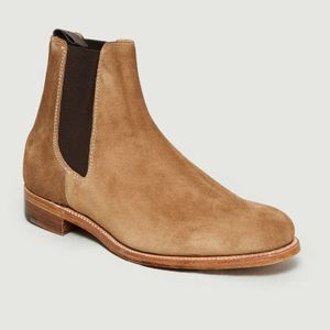 Pembroke Chelsea Boots Beige L'Exception Paris