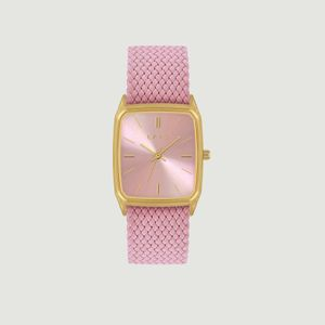 Nova braided fabric watch Perlon rose LAPS