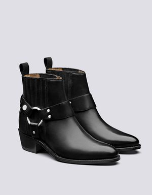 Grenson Marley Chelsea Boots - Black