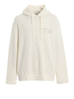 HOODIE LOGO AND QUOTE