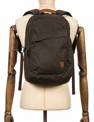 Fjallraven Raven 20L Backpack - Dark Olive Colour: Dark Olive