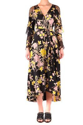 Diane von Furstenberg Printed Midi Dress