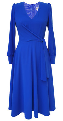 Brittany Dress DRC325 Electric Blue