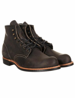 "Red Wing 3341 Heritage Work 6"" Blacksmith Boot - Charcoal Rough & Toug"