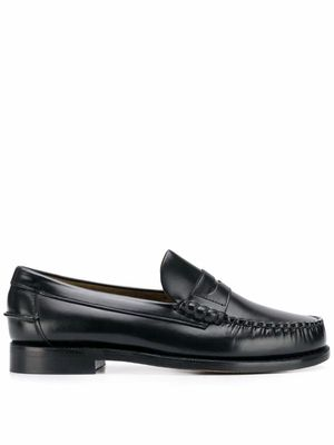 SEBAGO MEN'S 7000300902 BLACK LEATHER LOAFERS