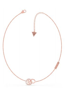 Guess Equilibre 4 Logo Necklace
