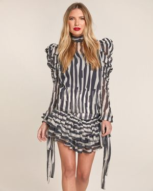Jas Abstract Print Blouse