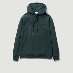 Vagn logo hoodie Deep Sea Green Norse Projects
