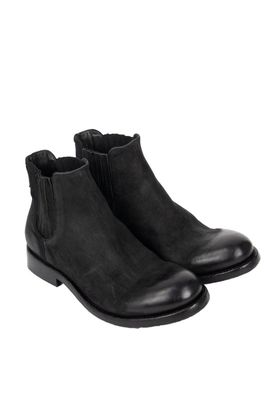 Hannes Roether x Last Conspiracy Leather Chelsea Boot Black Colour: Bl