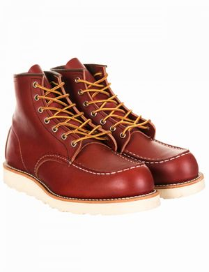 """Red Wing 8131 Heritage Work 6"""" Moc Toe Boot - Oro-Russet Portage Colou"""