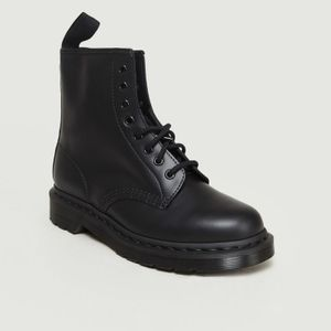 1460 Mono Boots BLACK SMOOTH Dr. Martens