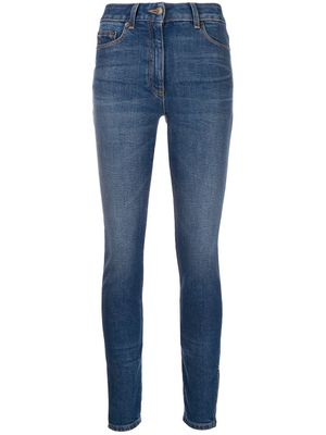 MOSCHINO WOMEN'S V032605210295 BLUE COTTON JEANS