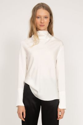 Ayumi Blouse in Off White