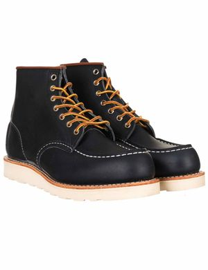 """Red Wing 8859 Heritage Work 6"""" Moc Toe Boot - Navy Portage Colour: Nav"""