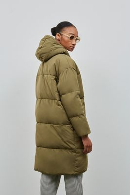 Embassy of Bricks and Logs • Elphin Down Coat • Olive