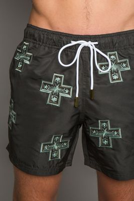 Baltic Black Swim Shorts