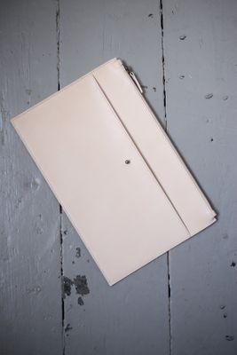 Blush Nude Luxury Leather Tablet Case