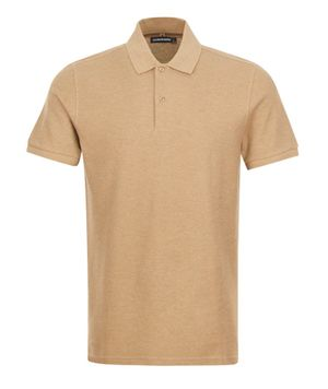J Lindeberg Troy SS Polo Shirt Beige