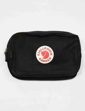 Fjallraven Kanken Gear Bag - Black Size: ONE SIZE, Colour: Black